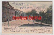 75362 Ak Weimar Karlsplatz mit Gasthaus Russischer Hof 1904