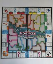Monopoly City - 4 Fold Replacement Board - 2009 Hasbro