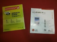 Straight Talk QUICK START/SERVICES GUIDE for LG OPTIMUS DYNAMIC II (Bilingual)