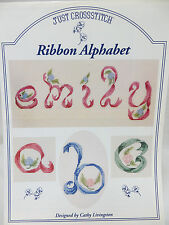 Ribbon Alphabet ABCs Counted Cross Stitch Pattern Designed by Cathy Livingston