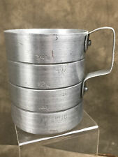 1 QUART HEAVY WEIGHT ALUMINUM MEASURING CUP WITH HANDLE