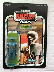 KENNER 1981 VINTAGE TOO ONE BEE 2-1B DROID On EMPIRE STRIKES BACK  41 BACK CARD