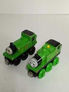 Thomas & Friends Wooden Railway Lot of 2 Oliver Engine - one without name