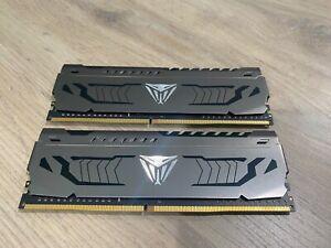 Patriot Viper Steel DDR4 16GB 2 x 8GB 3733MHz Kit w/Gunmetal Grey heatshield