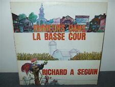 Richard Seguin . Rumeurs Dans La Basse Cour . 5 Inserts .  LP