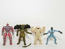 "Lot of 4 1994 MMPR Power Rangers Eye Guy, Zedd, Goldar, Puddy  5"" Figures"