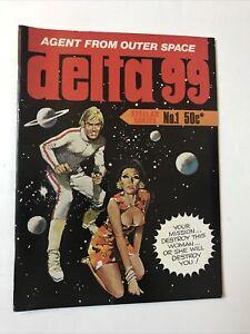 Delta 99 No 1 Gredown Australian Horror Reprint