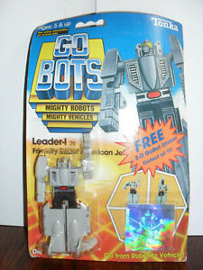 Original GoBots Gray Leader-1 sealed MOC New