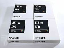 """【[NEW x4-Packs】POLAROID IMPOSSIBLE 600 Instant Color Film """"2013"""" From Japan 712"""