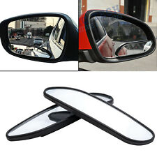Pair 360° Stick On Wide Angle Convex Rear View Blind Spot Mirror for Car SUV