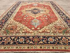 12x18 Rug New Hand Knotted Wool Woven Heriz Kazak 12 X 18 Persian Area Rugs Rust