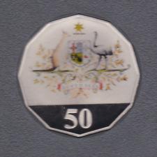 2001 50 cent Centenary of Federation Coloured PROOF Australia Coin ex Set *