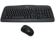 Logitech MK320 Black RF Wireless Desktop (Recertified)