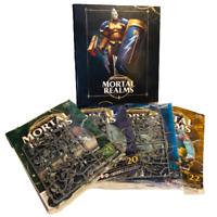 Warhammer Mortal Realms Age of Sigmar Issues 19 20 21 22 on Sprues Plus Binder
