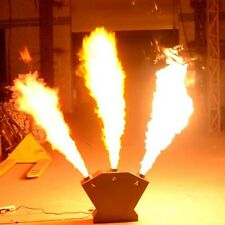 300W DMX Flame Thrower DJ Band Stage Show Effect 3 Head Fire Projector Machine