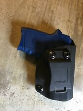 Smith and Wesson Bodyguard 380 With Laser Kydex IWB Holster. Inside Waistband