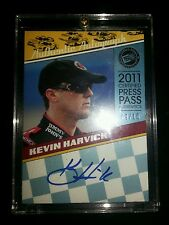 2011 Press Pass Certified Authentic Legends auto. Kevin Harvick #d 9/10