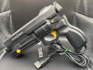 Japan Import Sega Saturn Black Virtual Light Gun Controller HSS-0152