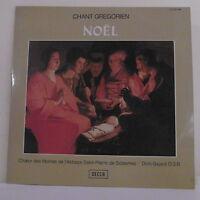 2 x 33T CHANT GREGORIEN Vinyle LP MOINES ABBAYE SOLESMES NOËL Vol.1 DECCA 278067