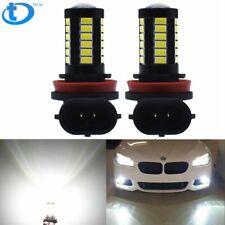 2Pc H8 H11 6000K White LED Fog Light Bulbs For BMW 320i 328i 335i 525i 528i 535i