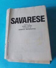 WOOD/MANDRAFINA: SAVARESE volume 1 (ed. Eura - volume a inserti da rilegare)