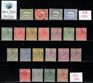 WC1_9499. SOLOMON ISLANDS. BRIT. Lot of 1908-1931 stamps. MH & Used