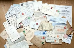 Interesting small archive Gifford family, 1900s-1960s, 100+ letters, bills, post