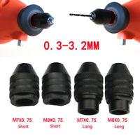 Multi Elettrico Autoserrante Trapano Chuck Cacciavite Adattatore Per 0.3-3.2mm