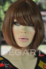 Dega 502. BOB BROWN mix. Peruka modna, elegancka, naturalna. Włosy syntetyczne.