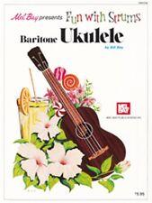 Bill Bay Fun With Strums Baritone Ukulele Learn to Play MUSIC BOOK Ukulele