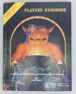 Original 1978 Advanced D&D Dungeons Dragons Players Handbook Gygax TSR 093596016