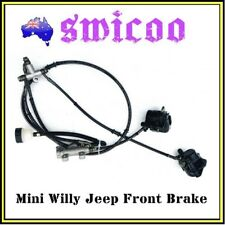 125cc 150cc mini willy jeep front brake system