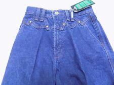 New Vtg Rockies Western Blue Jean TIMES TWO High Waist Classic Jr Size 15 32X36