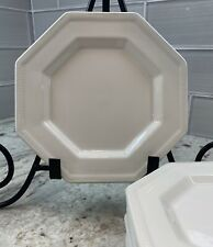 Set of 8 Johnson Brothers White Ironstone Heritage Bread/Dessert Plates (as is)
