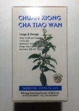 2x CHUAN XIONG CHA TIAO WAN dolor de cabeza Alivio 100% Natural Ingredientes