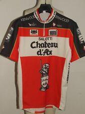 Maillot de Vélo Maillot Haut Cyclisme Équipe Chateau D'Ax Nalini Taille 3XL
