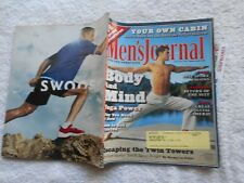 MEN'S JOURNAL Magazine-APRIL,2002-BODY AND MIND