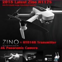 Hubsan H117S Zino Quadcopter Drone 4K Camera GPS WIFI FPV Waypoint 3 Axis Gimbal