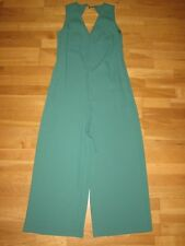 Next mid green wide leg jumpsuit playsuit size 12 Tall eur 40 brand new & tags