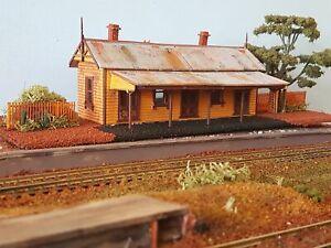 Victorian Rail Bullarto Station Kit HO scale 1:87