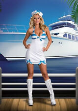 New Sexy Sailor Rockin The Boat Halloween Costume Dreamgirl  Pin Up Girl XL