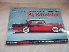 American Motors presents -The All-New, All American 56 Rambler-Original Brochure