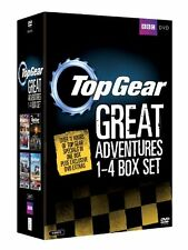 TOP GEAR - THE GREAT ADVENTURES 1-4 SEALED/NEW dvds series boxset 5051561035067