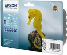EPSON Original Ink Cartridges T0487 RX600 RX620 R300 RX500 RX640 R200 R220 R320