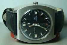 VINTAGE TITONI SPACESTAR 25J ROTOMATIC AUTO DAY DATE SWISS MENS Y354 WATCH