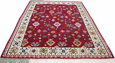 "Vintage tribal custom made handmade hand-knotted rug  (98""x 20"") pure wool  # 3A"