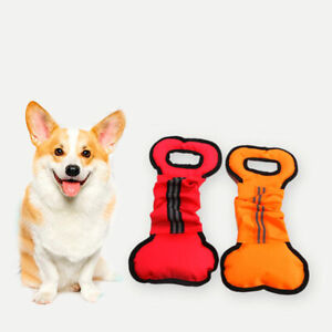 Solid Color Teeth Grinding Toys Bone Shape Training Chewing Playing Chew Toys LL