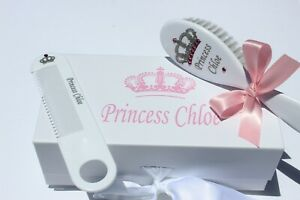 Personalized Baby Brush & Comb Set, Engraved, Personalized Baby Gift, Brush,Comb