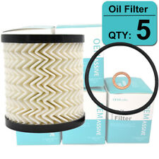 SET OF (5) Oil Filters For MINI Cooper Countryman Paceman R55 to R61 11427622446