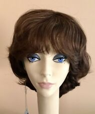 NWT JACQUELYN Wig HUMAN HAIR Blend HH NEW YORKER 14-8 BROWN